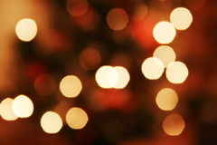 Light abstract. On christmas background Stock Photography