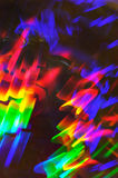 Light abstract. Spectrum colored, motion blurred light abstract Stock Images