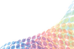 Light abstract background. Lighter background of multicolored dots. Vector Royalty Free Stock Photos