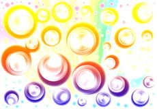 Light abstract background circle Stock Photos