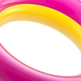 Light abstract background made of glossy arc. Light abstract background made of yellow and magenta glossy arc Royalty Free Stock Photography