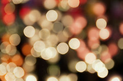 Light abstract Blurred focus Stock Photography