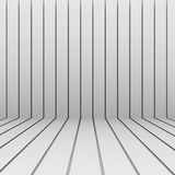 Light abstract boards background. Light boards stacked on the wall and the floor. Perspective view Royalty Free Stock Photos