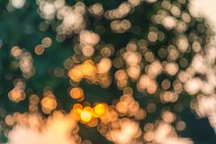 Light abstract bokeh background of light element. Light abstract bokeh background by blur or defocused at light element use for background or wallpaper in new Stock Photography