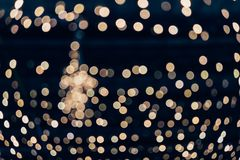 Light abstract bokeh background of light element. Light abstract bokeh background by blur or defocused at light element use for background or wallpaper in new Stock Photo