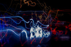 Light abstract 13. Light abstract lightning in the night Stock Image