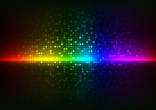 Light Abstract pixels Technology background Royalty Free Stock Photography