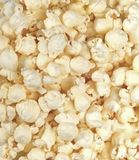 Light air popped butter popcorn royalty free stock photo
