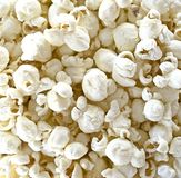 Light air popped white cheddar cheese popcorn royalty free stock images