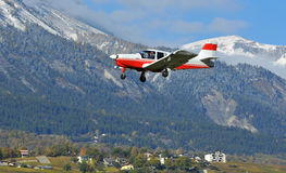 Light aircraft Stock Photography