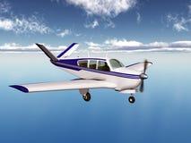Light aircraft Stock Image