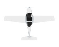 Light Aircraft Isolated Stock Image