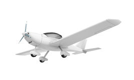 Light Aircraft Isolated Stock Photography