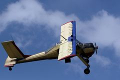 Light aircraft Royalty Free Stock Photography