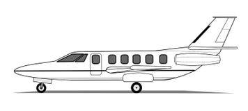 Light airplane Royalty Free Stock Photos