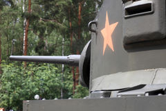 Light american tank M3 Stock Image
