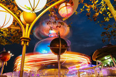 Light amusement park Royalty Free Stock Image