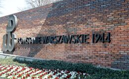 Free Light And Shadow On The 1944 Warsaw Uprising Memorial, Poland Royalty Free Stock Photography - 185082257