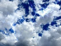 Be the light, light and angelic energy in the sky, photographed in Bloemfontein, South Africa