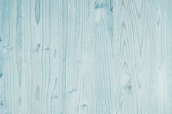 Light aqua blue vintage wood texture. Top view, wooden board. Light aqua blue vintage wood texture. Top view, wooden Royalty Free Stock Photo