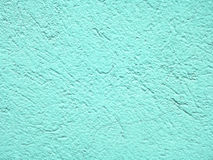 Light aquamarine wall texture for background Stock Photos
