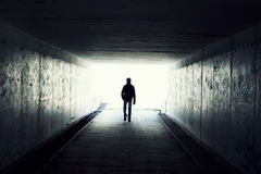 Free Light At End Of Tunnel Stock Photos - 18817673