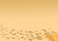 A light autumn background Royalty Free Stock Photo