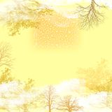 Light autumn background Stock Photography