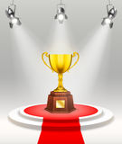 Light Awards Ceremony Template Royalty Free Stock Images