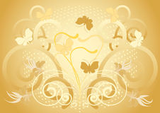 Light background with batterfly.Background.Wallpap Royalty Free Stock Photos