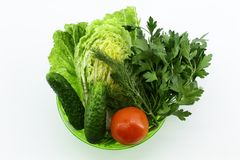 Clean fresh vegetables for cooking royalty free stock photos
