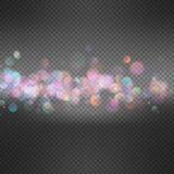 Light background with bokeh. EPS 10. Illustration Abstract holiday light background with bokeh. EPS 10 vector file included Royalty Free Stock Image