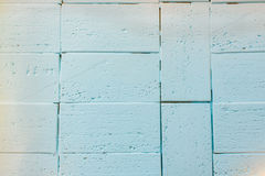 Light background brickwork color mint Royalty Free Stock Photo