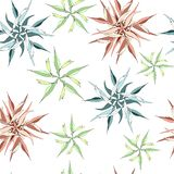Light background from contour flowers. Figure from the stars on a light background. Texture for the decoration of fabrics, tiles. And paper and wallpaper stock illustration