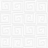 Light background with a geometric pattern Stock Images