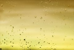 Light background glass drops Stock Photos