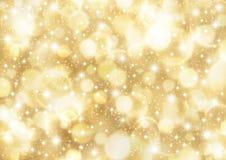 Light background. Background of glittering bokeh light Stock Images