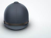 Light Background Jockey helmet for horseriding Stock Image