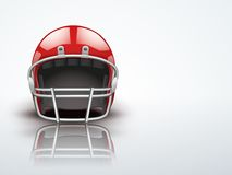 Light Background Realistic American football Royalty Free Stock Photography