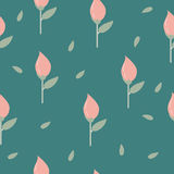Light background tulips. For printing Stock Photography