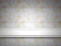 Light  background with white ribbon. Stock Photography