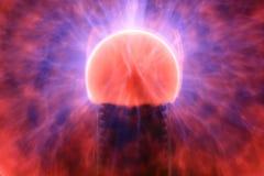 Light Ball. A plasma Light effects taken with slow shutter using tripod.Very fascinating stuff Stock Image