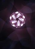 Light ball. Artful bright light ball in retro look Royalty Free Stock Image