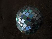 Light ball. Ball of light disco reflection refraction fun Royalty Free Stock Photo