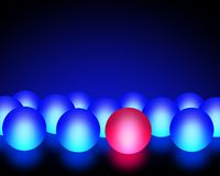 Light Balls Stock Photo