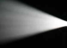 Light Beam from Projector stock images