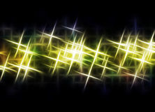 Light beams. Abstract image of light beams with use of a colour gradient Royalty Free Stock Photography