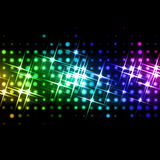 Light beams. Abstract image of light beams with use of a colour gradient Stock Photography