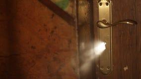 Light bean rise through keyhole