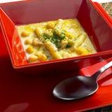 Light bean soup. Still life Stock Images